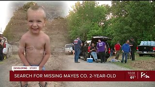 Search for missing Mayes County 2-year-old