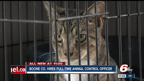 First full-time animal control officer hired in Boone County