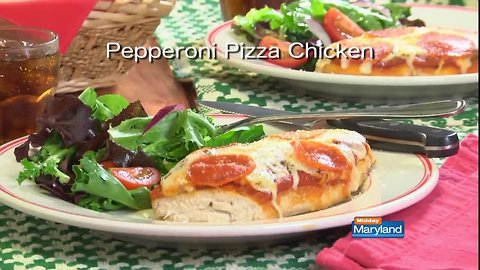 Mr. Food - Pepperoni Pizza Chicken