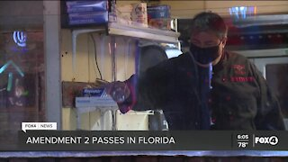 Florida businesses consider cutting staff, raising prices to accommodate new minimum wage