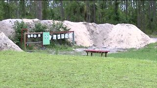 Safety precautions for backyard gun ranges