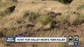 Authorities continue search for accused teenage killer - Video