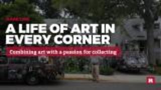 A life of art in every corner | Rare Life - Video