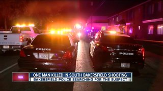 One man killed in south Bakersfield shooting