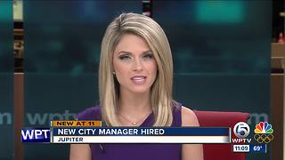 Town of Jupiter hires new city manager - Video