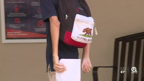 Students return to class on Wednesday at West Palm Beach private school
