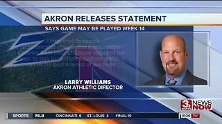 Akron Athletic Director releases statement - Video