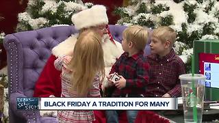 Black Friday a tradition for many - Video