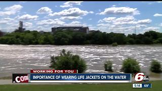 Importance of wearing life jackets on the water - Video