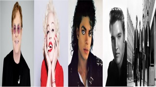 Top 10 artists with most weeks at number 1 - Video