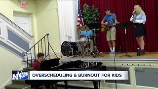 Dangers of overschdeuling kids and the effects of burnout - Video