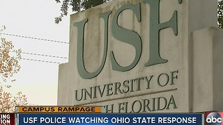 USF reviews OSU campus attack - Video