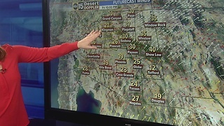 Rain moving into Valley over next few days - Video