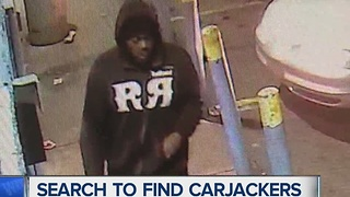 Search to find carjackers - Video