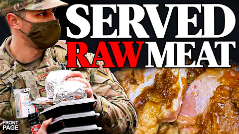 National Guard sick from undercooked food; 108 Illegal Immigrants with virus released into Texas