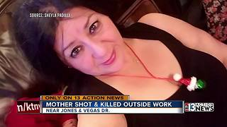 Las Vegas mom shot and killed at work - Video
