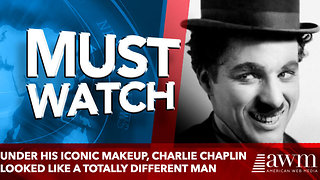 Under His Iconic Makeup, Charlie Chaplin Looked Like A Totally Different Man