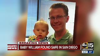 Baby William missing from Mesa has been found safe