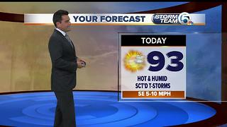 South Florida Friday morning forecast (7/28/17) - Video
