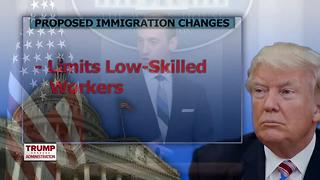 Trump Supports Bill That Would Create A Merit-Based Immigration System - Video
