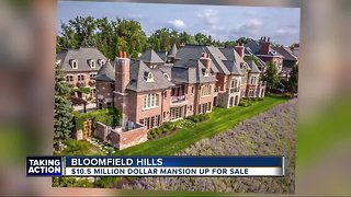 $10.5 million Bloomfield Hills mansion hits the market