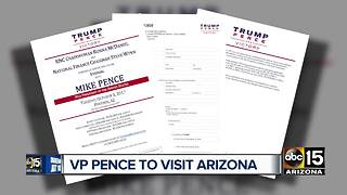 Mike Pence holding fundraiser in Valley next Tuesday - Video