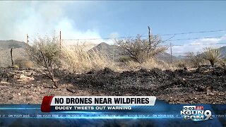 Gov. Ducey warns about drones