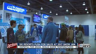 Ski resorts pushing for sales during abnormally warm winter