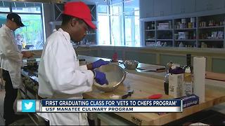 'Vets-2-Chefs' Program gives homeless vets a new beginning - Video