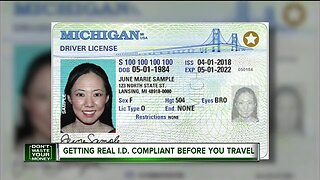 Getting Real I.D. complaint before you travel