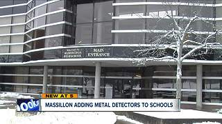 Massillon adds metal detectors to schools due to concerns over violence - Video