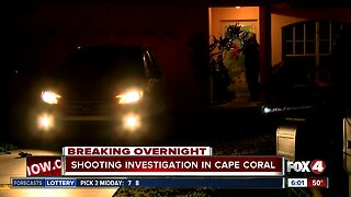 Police investigate shooting incident in Cape Coral Monday night