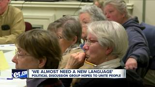 Political discussion group hope to unite people - Video