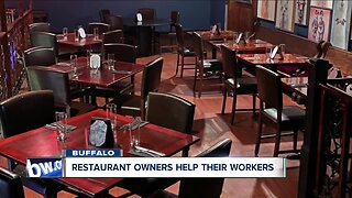 Restaurants finding ways to help out of work employees