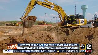Headworks project to reduce sewer overflows - Video