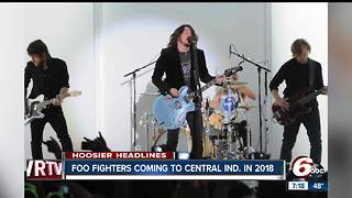 Foo Fighters to play Ruoff Home Mortage Music Center - Video