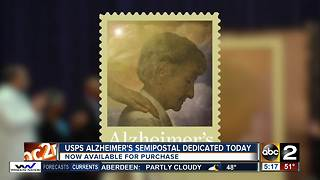 U.S. Postal Service dedicates Alzheimer's Semipostal Fundraising Stamp - Video