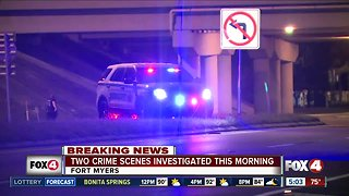 Two crime scenes in Fort Myers - Video