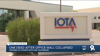 1 dead, 1 seriously injured after wall collapse at Tucson office building