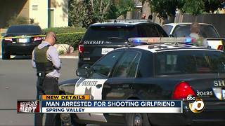Man arrested for shooting girlfriend in Spring Valley - Video