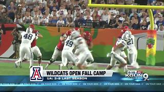 Wildcats Football is Back 5p - Video