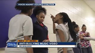 Milwaukee students' release anti-bullying music video - Video