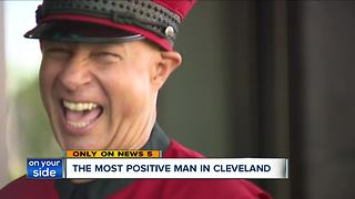 The most positive man in Cleveland - Video