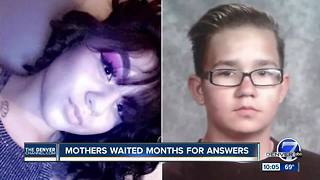 Mothers of slain Colorado Springs teens waited months for answers - Video