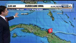 2 a.m. Friday Hurricane Irma update