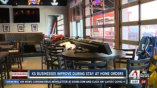 Kansas businesses improve during stay-at-home orders