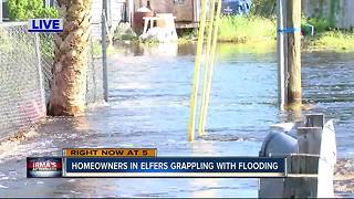 Homeowners in Elfers grappling with flooding - Video
