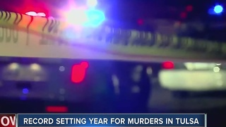 2016 Destined To Become A Record Year For Homicides In Tulsa - Video