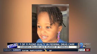 7 plead guilty in case involving 2014 murder of Waverly toddler