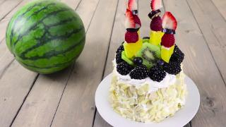 Watermelon Cake - Video